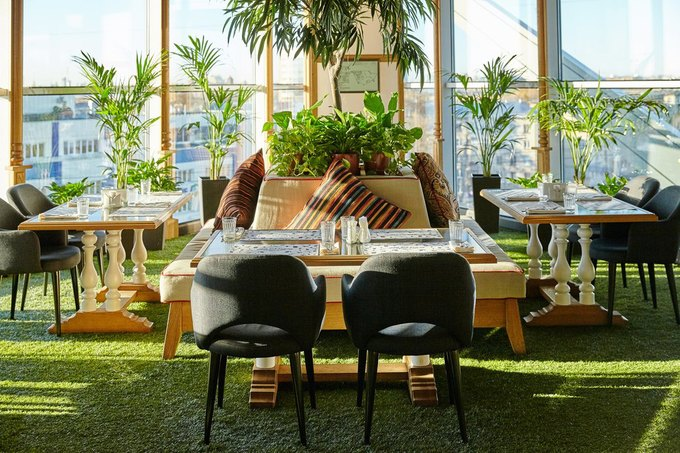 Ginza Project открыла ресторан «Баклажан» в«Европолисе» . Изображение № 3.