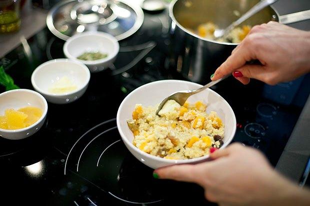Шеф дома: Ростбиф-салат и тыквенная каша Мириам Сехон. Изображение № 89.