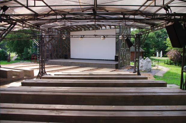 В парке «Музеон» открывается летний кинотеатр. Изображение №1.