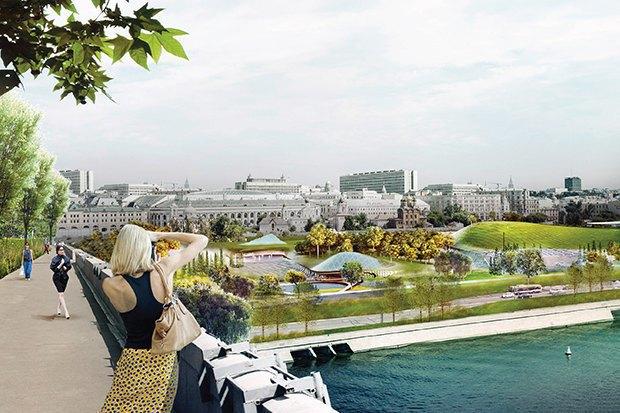 На территории будущего парка «Зарядье» появится интерактивный павильон. Изображение № 5.
