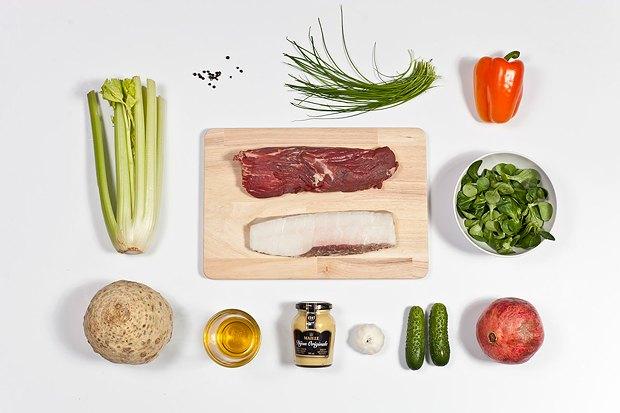 Шеф дома: Ростбиф-салат и тыквенная каша Мириам Сехон. Изображение № 5.