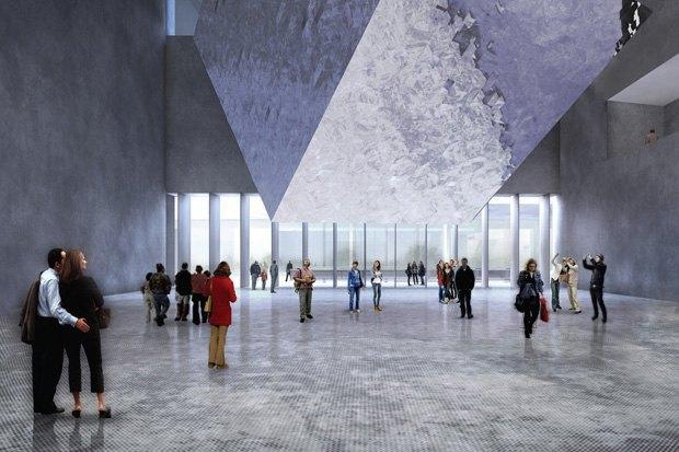 Три проекта нового здания ГЦСИ. Изображение № 13.
