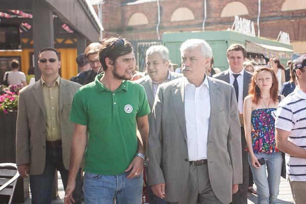 Губернатор Полтавченко посетил фермерский рынок «Лавки». Изображение № 8.