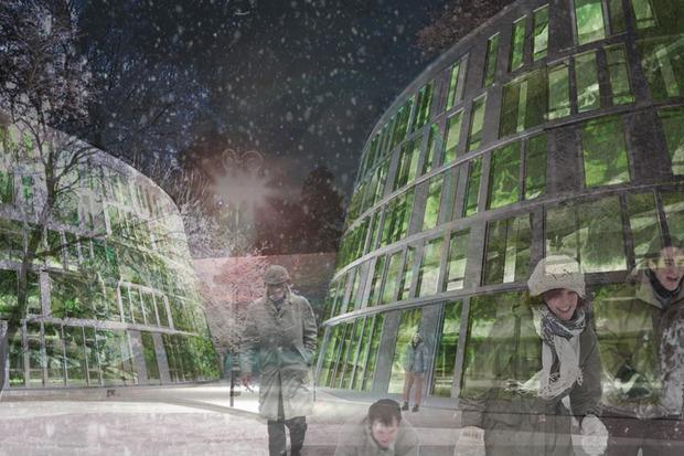 Что делать с электростанцией на Балчуге: 5 проектов студентов МАРХИ. Изображение №4.