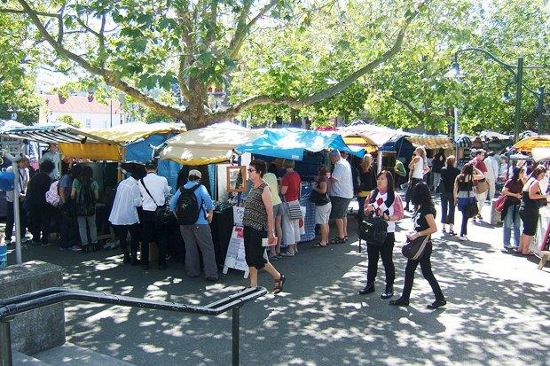 Иностранный опыт: Ярмарки выходного дня в Нью-Йорке, Амстердаме, Норфилде, Шанхае и Крайстчерче. Изображение № 54.