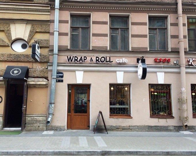 На «Владимирской» открылось кафе Wrap&Roll . Изображение № 1.