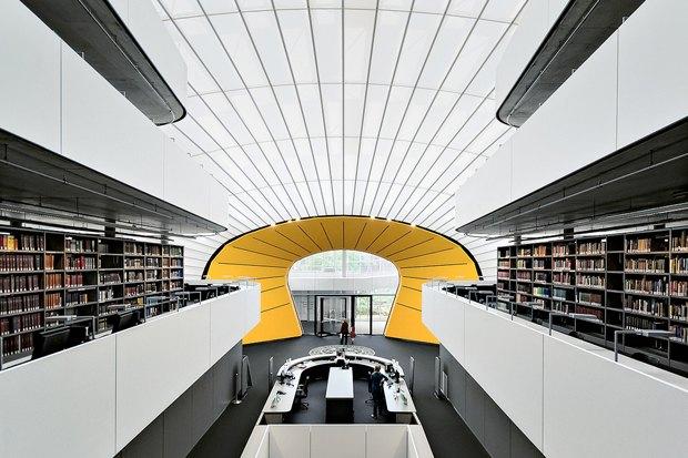 Библиотека факультета психологии, Свободный университет Берлина. Изображение № 2.