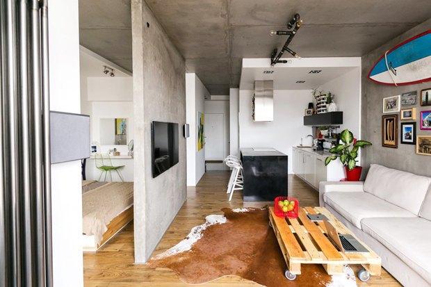 Как обустроить однокомнатную квартиру. Изображение № 5.