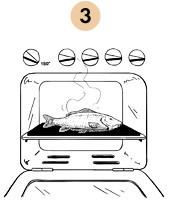 Рецепты шефов: Запечённый с травами карп с соусом из оливок и томатов. Изображение №6.
