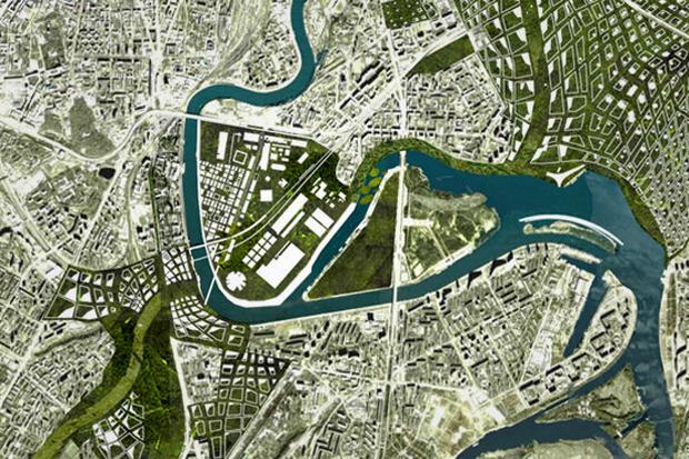 «Полуостров ЗИЛ» превратят в город в городе. Изображение № 1.