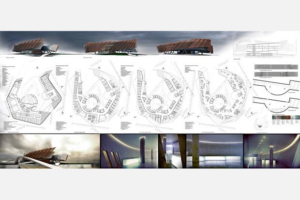 На бумаге: 8 нереализованных архитектурных проектов в Киеве. Зображення № 45.