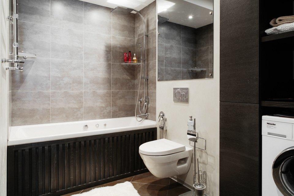 Трёхкомнатная квартира сэклектичным интерьером. Изображение № 21.
