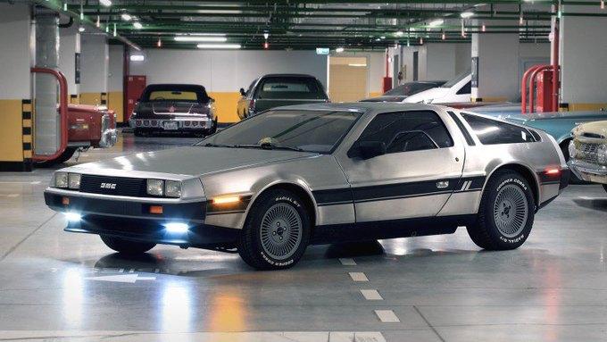 Машина времени из фильма «Назад в будущее» на сайте Auto.ru. Изображение № 1.