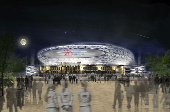 Стадиону «Динамо» вернут главный фасад и оригинальные барельефы . Изображение № 8.