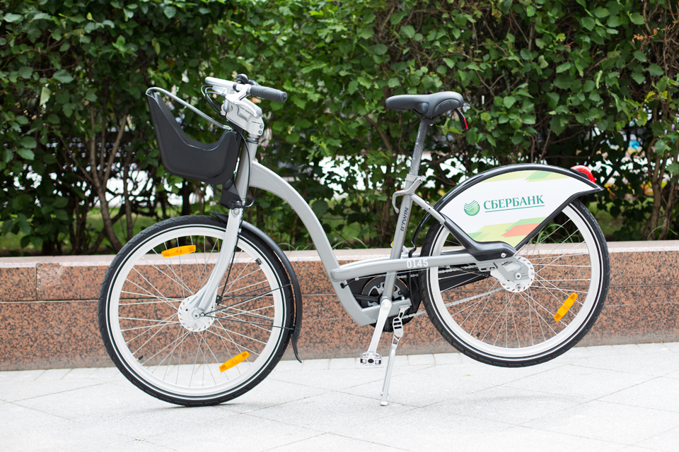 Велопрокатный велосипед