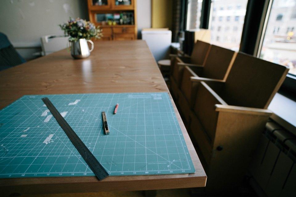 Офис дизайн-бюро «Щука» с усами на стенах. Изображение № 14.