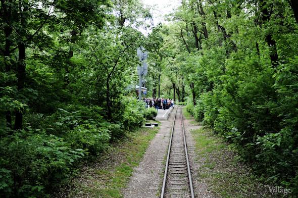 Фоторепортаж: В Киеве открылся сезон на детской железной дороге. Зображення № 42.