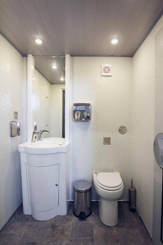 Общественный туалет повышенной комфортности наДумской. Изображение № 5.