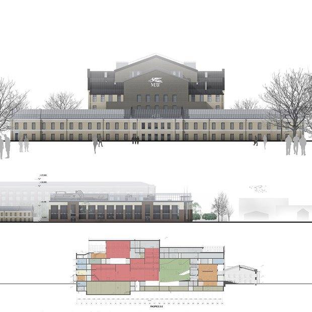 Определены сроки истоимость строительства «Театра Европы». Изображение № 3.