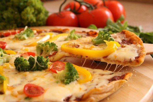 Пицца «Овощной рай» — 390 рублей. Изображение № 1.