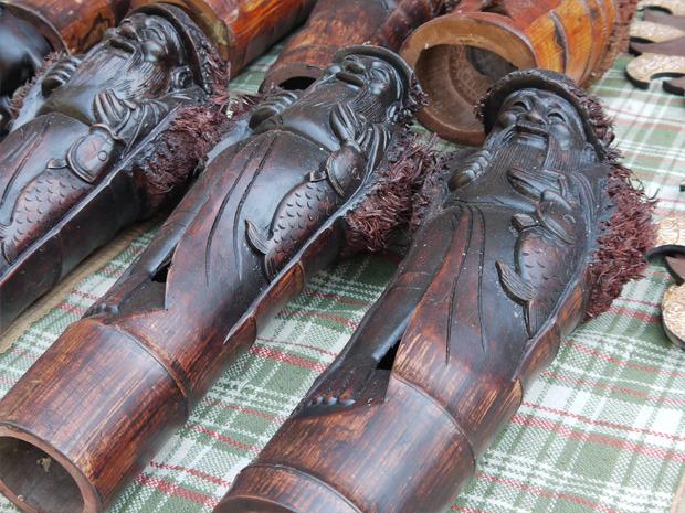 Фигурки из корня бамбука. Цена 350 грн. за штуку. Изображение № 26.