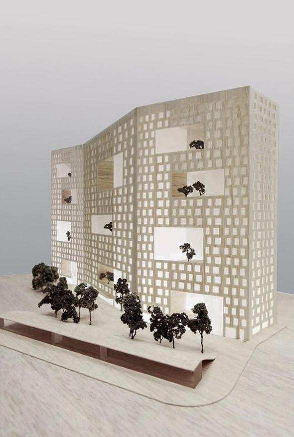 Изображение 9. В Москве построят многоэтажку с зелёными дворами на разных этажах.. Изображение № 5.