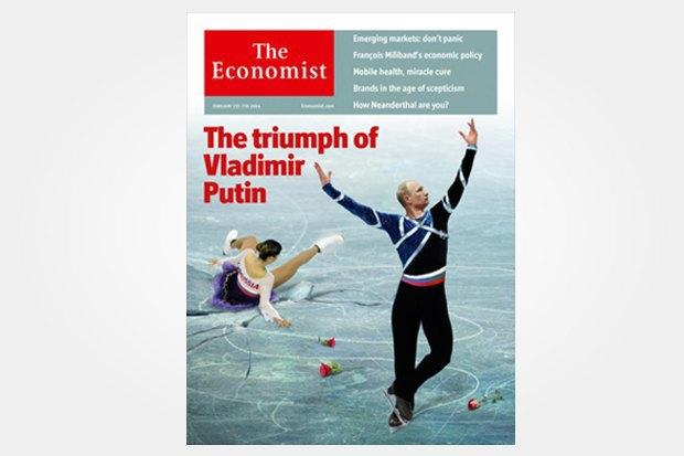 Олимпиада в Сочи на обложках зарубежных изданий. Изображение № 2.
