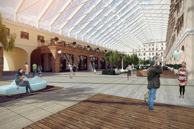 Перестройка: 5 проектов квартала вокруг Конюшенной площади. Изображение № 5.