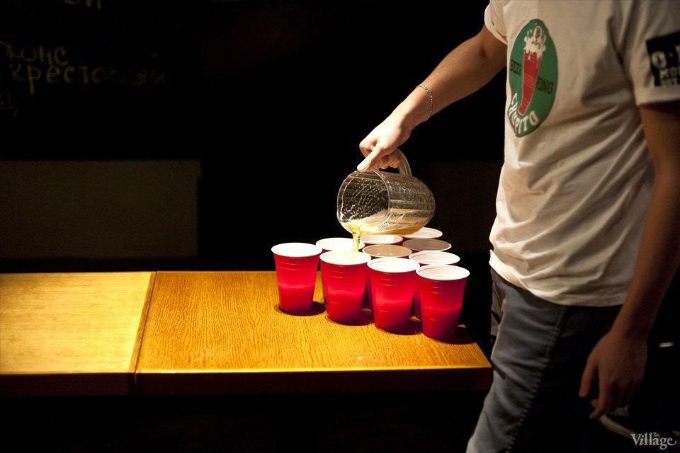 Дали по шарам: Кто игде играет вбир-понг вМоскве. Изображение № 15.