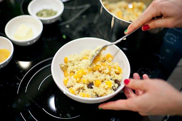 Шеф дома: Ростбиф-салат и тыквенная каша Мириам Сехон. Изображение № 88.