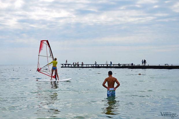 На воде: Виндсёрфинг, вейкбординг и дайвинг в Одессе. Зображення № 5.