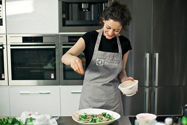 Шеф дома: Ростбиф-салат и тыквенная каша Мириам Сехон. Изображение № 64.