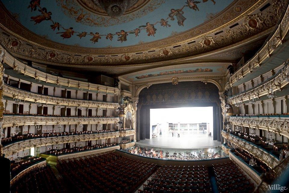 Фоторепортаж: Вторая сцена Мариинского театра изнутри. Изображение № 35.