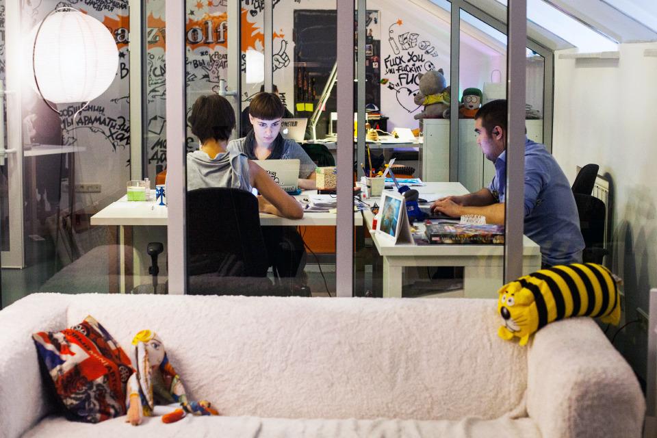Офис недели (Москва): Catzwolf. Изображение №3.