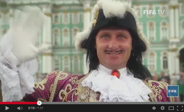 FIFA презентовала ролик оПетербурге кчемпионату пофутболу. Изображение № 1.