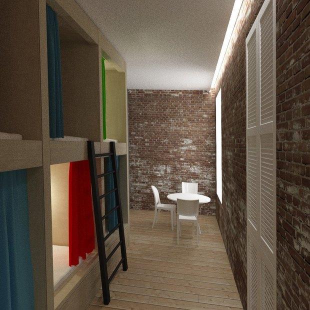 В кластере «Архитектор» открылся хостел. Изображение № 4.