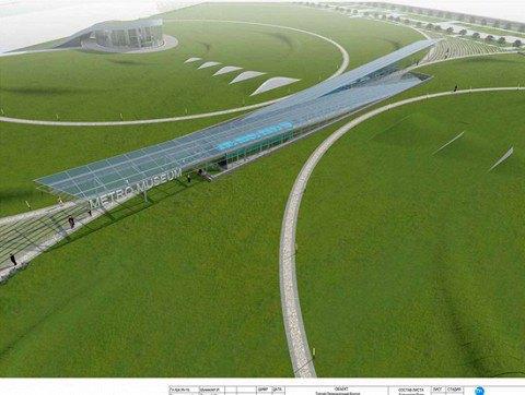 Администрация метро показала проект своего будущего музея. Изображение № 2.