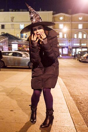 Люди в городе: Хеллоуин вПетербурге. Изображение № 12.