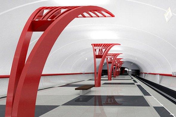 Открылась новая станция метро «Алма-Атинская». Изображение № 2.