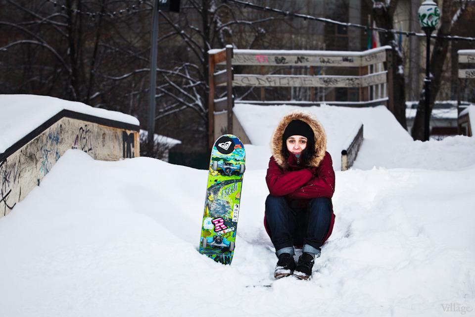 Люди в городе: Где катаются скейтеры зимой. Изображение №3.