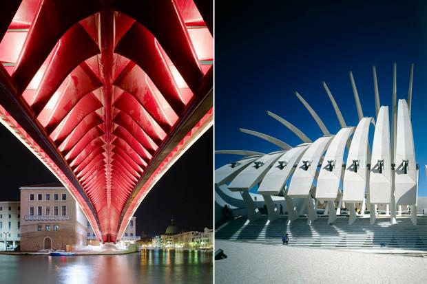 Мост Конституции, Венеция, Италия, 1996–2008, и павильон Кувейта на «Экспо-1992», Севилья, Испания, 1992 . Изображение № 7.