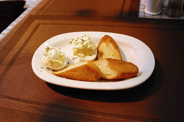 Яйца фаршированные — 45 рублей. Изображение № 7.