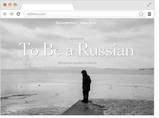 Русские патриоты в New York Times, собака вочках иотзыв Навального о«Сроке». Изображение № 2.