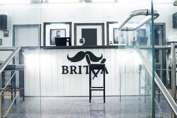 На «Московской» заработала мужская парикмахерская Britva. Изображение № 1.