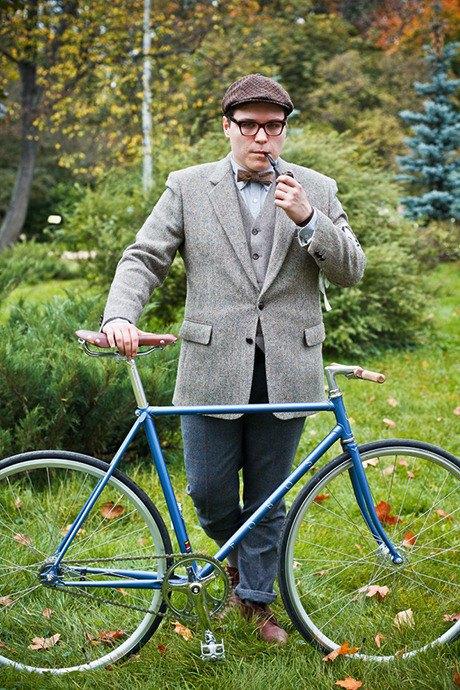 С твидом на город: Участники велопробега Tweed Ride о ретро-вещах. Изображение № 77.