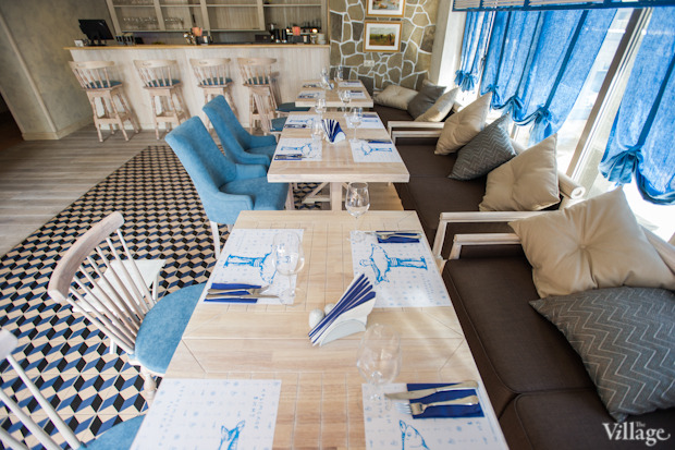 Новое место (Киев): Ресторан «Баркас. Рыба и вино». Зображення № 3.