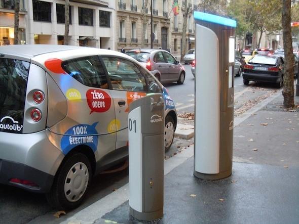 Иностранный опыт: Прокат электромобилей в Париже. Изображение № 16.