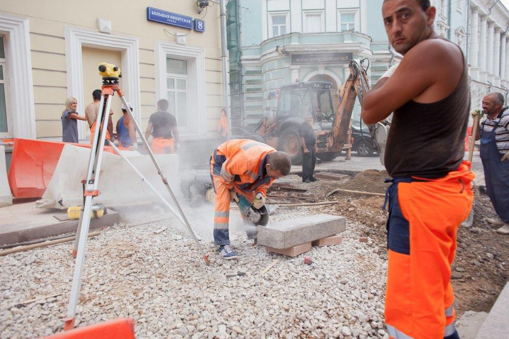 Её раскопали: Пешеходные улицы Москвы за месяц до открытия. Изображение № 28.