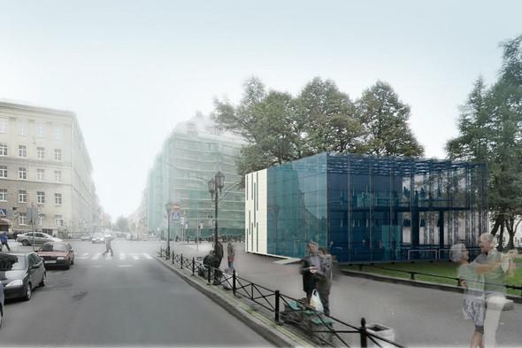 Молодые архитекторы предложили проект прозрачного полицейского участка. Изображение № 7.