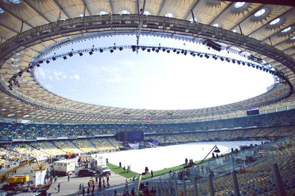 Выходит на арену: Как реконструировали стадион «Олимпийский». Изображение № 8.